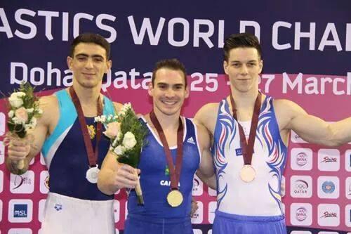 A doua medalie de bronz pentru Andrei Muntean! După inele, a venit şi la paralele