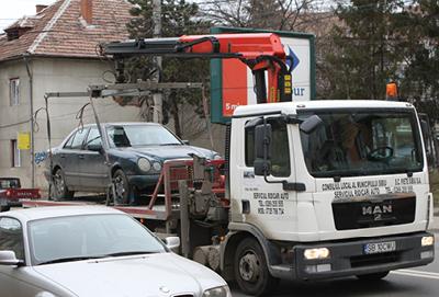 Oficial: La Sibiu nu se mai ridică mașini