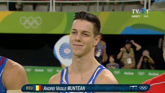 JOCURILE OLIMPICE: Evoluţie grozavă pentru Andrei Muntean în finala de la paralele