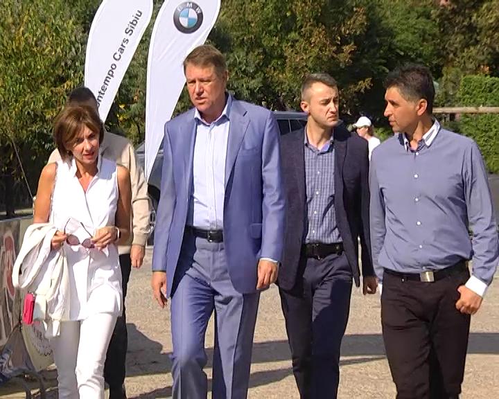 Iohannis la Sibiu Open