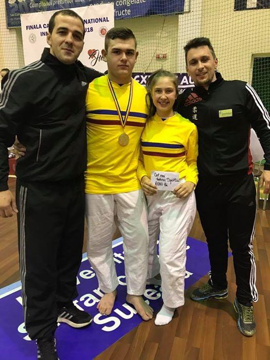 Alexandra Pasca&Andrei Roman Campioni Nationali