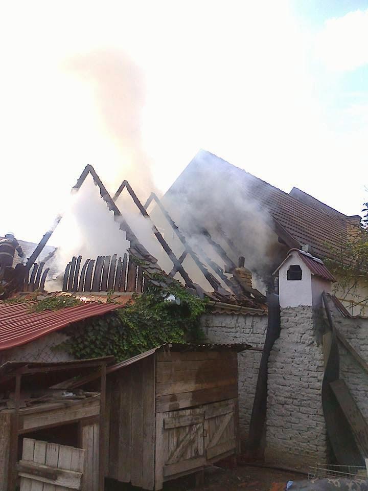 Incendiu anexa Ighisul Nou