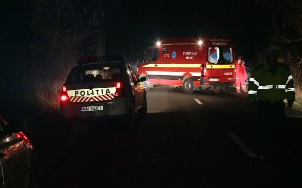 accident noaptea -microbuz