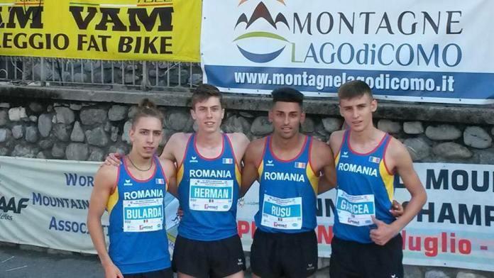 Aur si argint pentru atletii din Medias la Mondialele de Alergare Montana