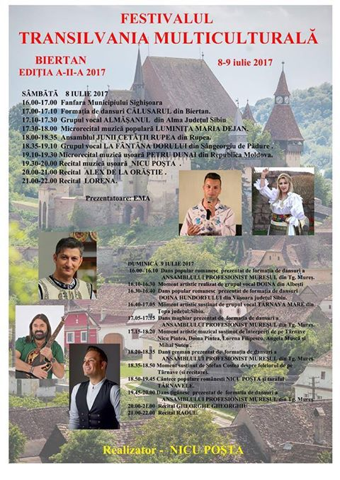 Festivalul Transilvania Multiculturala la Biertan