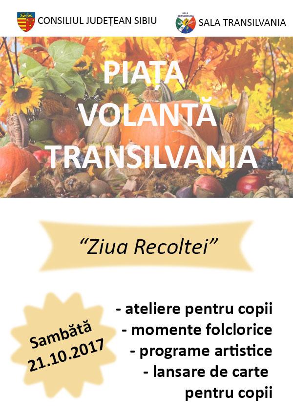flyer piata transilvania ziua recoltei