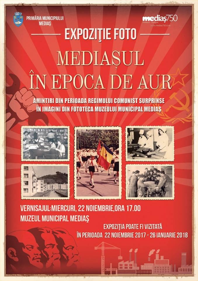 Expozitie Mediasul in Epoca de Aur