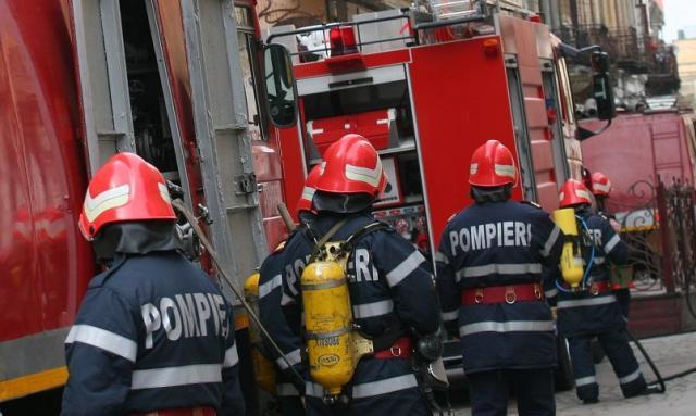 O oala uitata pe foc a speriat un bloc intreg din municipiul Medias