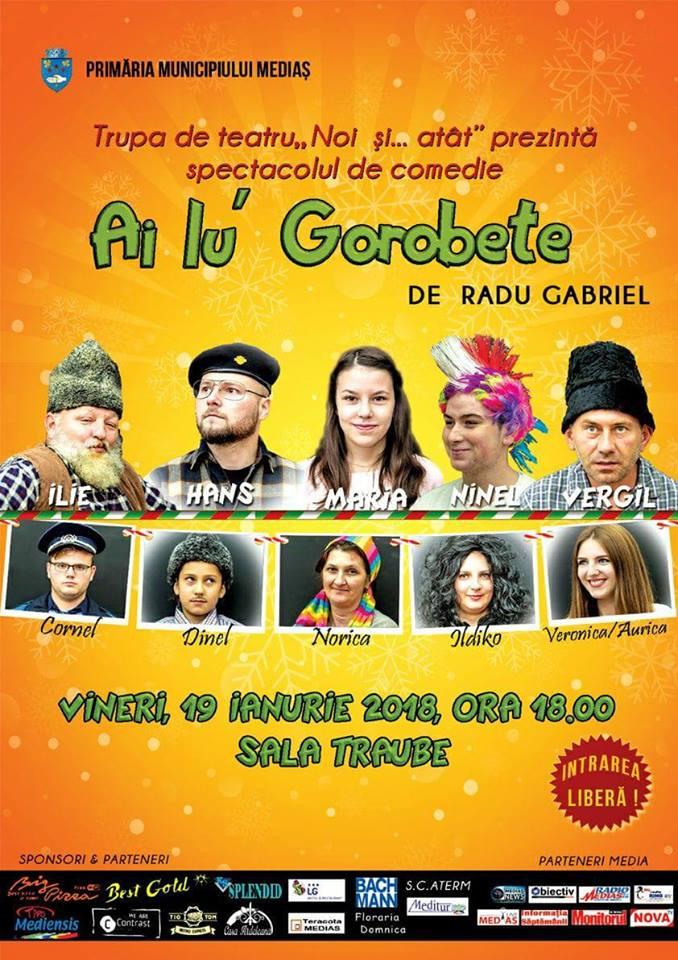 Teatru Ai lu' Gorobete la Medias