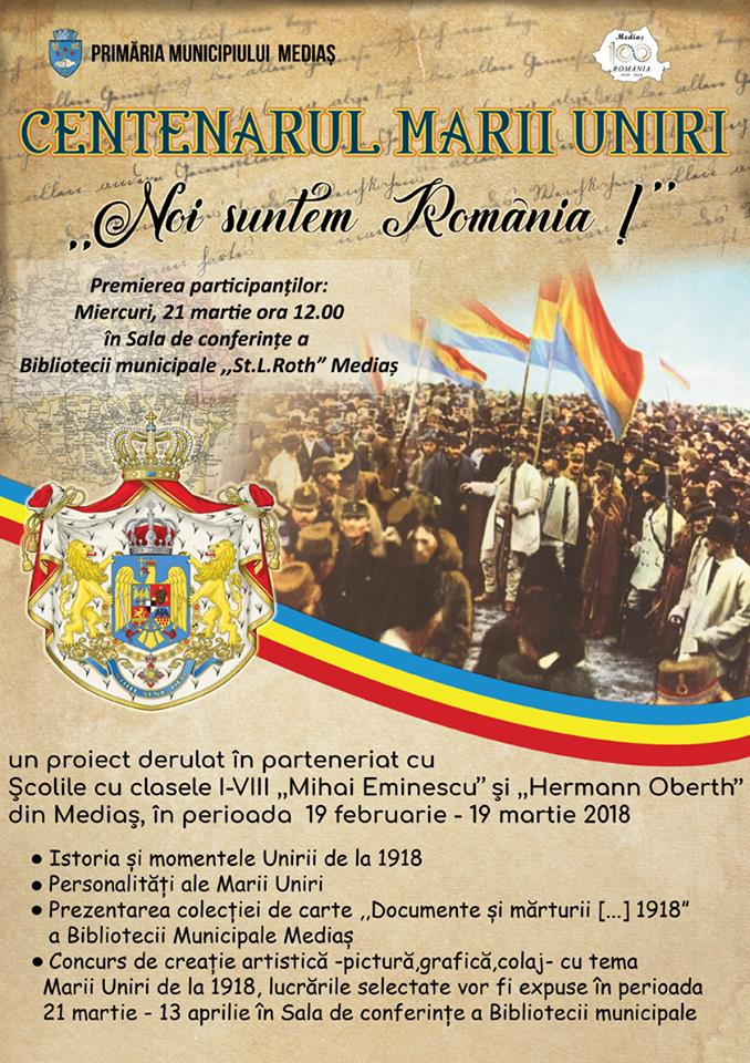 Noi suntem Romania la Biblioteca Medias